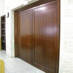 Wooden Entry Doors, Mir Yeshiva, Kiryat Sefer