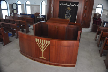 Synagogue Furniture: What types can you find in any Shul?