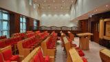 מערת ישיבה מרופדת בבית הכנסת שלווה, ירושלים
