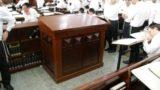 Torah Reading Table, Mir Yeshiva, Kiryat Sefer